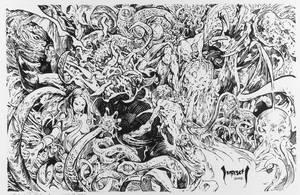 Lovecraftian Montage by Dubisch