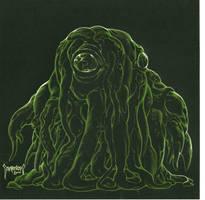 Green Shoggoth by Dubisch