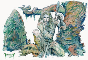 The Wood Elf by Dubisch