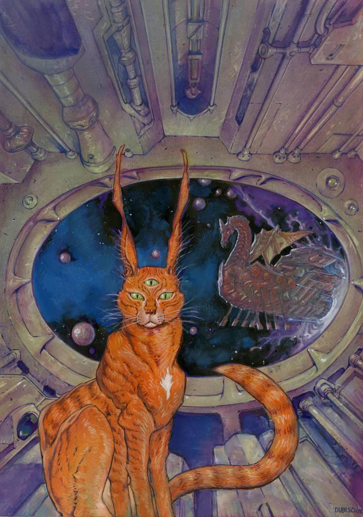 Interstellar Zen cover art by Dubisch