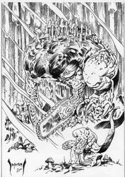Ishmael, from All Monster Action by Dubisch