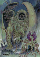 The Children of Cthulu by Dubisch