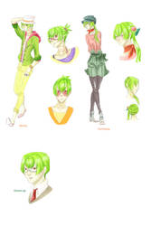 Sketchs Seika by Leafirefly