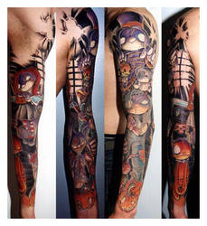 My Fucking Arm by demoniak-evil