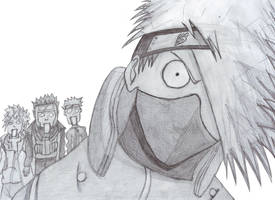 Kakashi and others by kaiser33