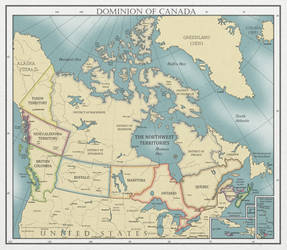 The Dominion of Canada, ca. 1930 by SPARTAN-127
