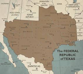 Federal Republic Of Texas by SPARTAN-127