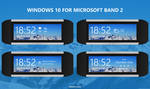 Windows 10 for Microsoft Band 2-Lockscreen Concept by armend07