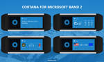 Windows 10 Cortana for Microsoft Band 2 Concept by armend07