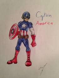 Captain America by BoltZap