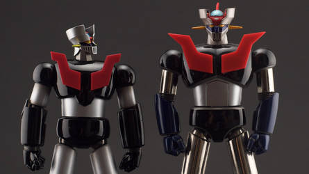 Mazinger Z - New vs Old by itisboring