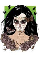 Dia de los Muertos by SneakyFox2