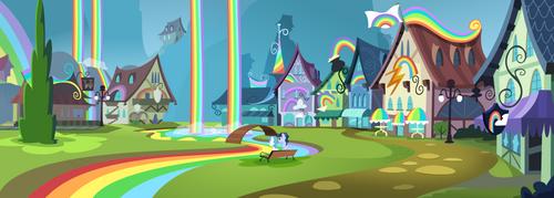 Rainbow falls by BlueThunder66