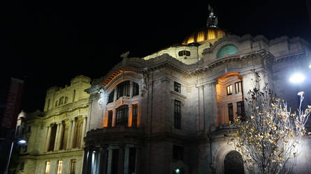 Palacio de Bellas Artes de noche 02 by Ivan-Caballero-DI