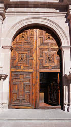La Catedral de Aguascalientes (puerta lateral) by Ivan-Caballero-DI