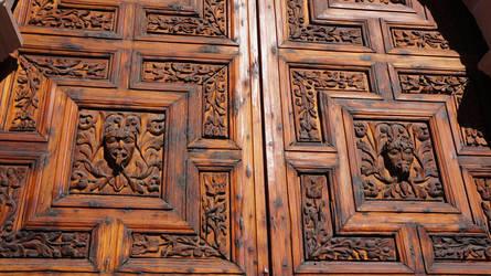 La Catedral de Aguascalientes (puerta detalle) by Ivan-Caballero-DI