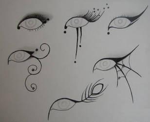 Eye Make Up Designs by Gothic-Moonlight