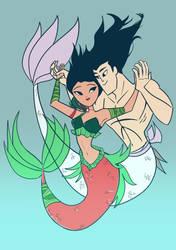 Mermaids by snuberr