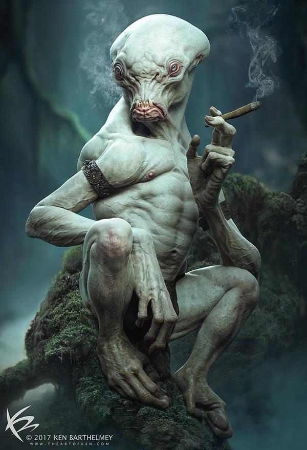 Smoker by KENBARTHELMEY