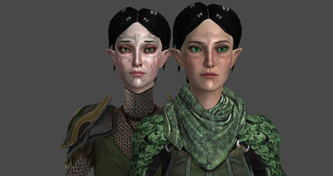 Merrill Comparision by silversnie