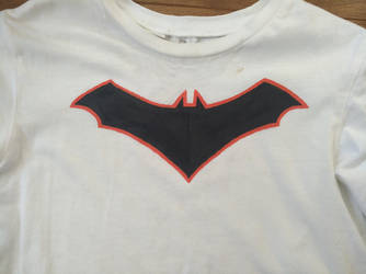 Batman DC Rebirth Logo (Acrilyc Paint) 2 by zhe-holti