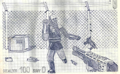 Old Shit 8 - HL2 Versus Metrocop by zhe-holti