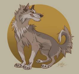 Wolf by Belka-1100