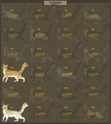Cat Adoptables - 2/24 OPEN by Belka-1100