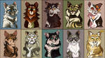 Fluff Love Cat Adoptables - 1/10 OPEN by Belka-1100