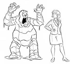 Penelope Bailey AKA Scooby Snack Monster 1 by djmpaz