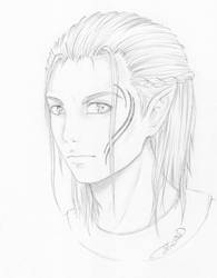 Zevran Arainai Fan Art by Sybil-Rikku