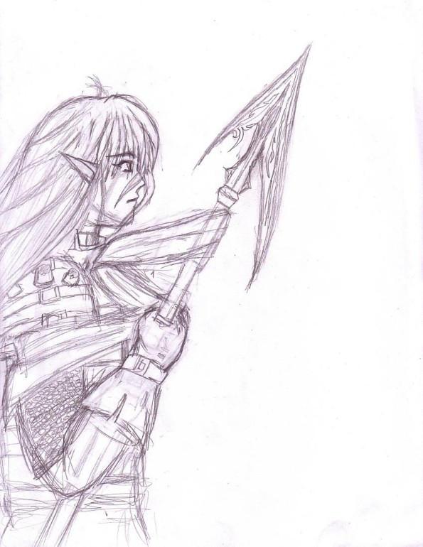 That Warrior 2. by thriethetiger