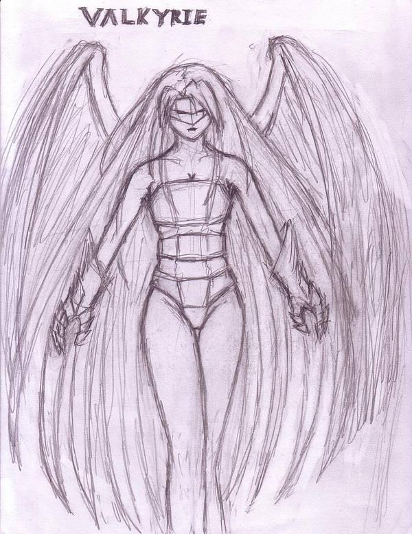 Warrior's Angel, Valkyrie by thriethetiger