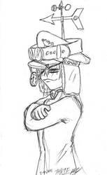 Gaia Captain's Hat by thriethetiger