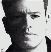 Matt Damon - Bourne Ultimatum by Doctor-Pencil