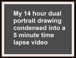 My 14-hour Drawing as a 5-minute time-lapse video by Doctor-Pencil