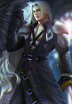 Sephiroth by nyankola