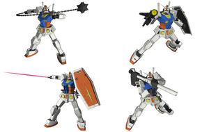 RX-78-2 Gundam by Illsteir