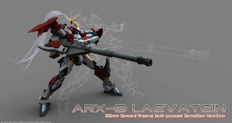 ARX-8 Rendered III by Illsteir