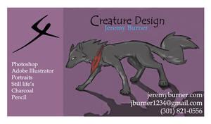business card by Jeremy-Burner
