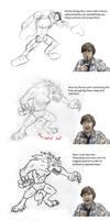 Werewolf Step By Step by Jeremy-Burner