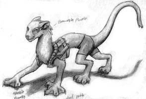 Chitter sketch by Jeremy-Burner