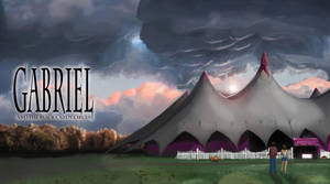 Gabriel and the black candy circus PC background by Jeremy-Burner