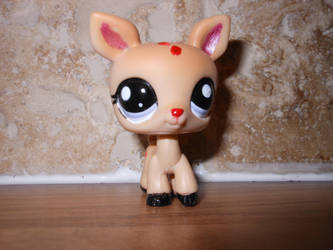 Rudolph The Red Nose Reindeer Lps Custom By Megatiger42 On Deviantart
