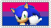 Bisexual Sonic stamp by MarioSonicPeace