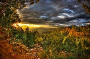 Morbid Sun vs Clouds by ciyzis-kirayzs