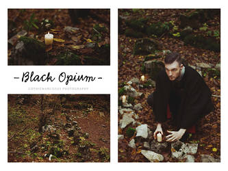 Black Opium by GothicNarcissus
