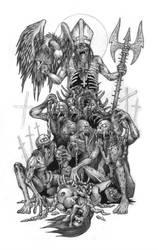 The Diabolical Necromorphosis by DARK-NECRODEVOURER