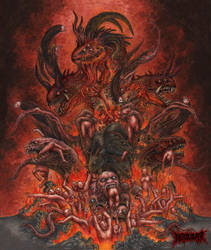 The Necrogeddon (Burn Them All) by DARK-NECRODEVOURER