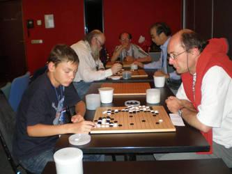Go at the Esperanto Congress by tonymec